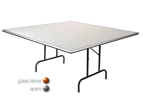 Mesa cuadrada sillas y mesas sillas elite s for Mesa cuadrada plegable