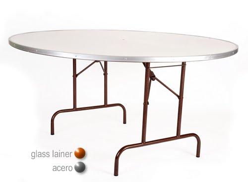 Mesa redonda sillas y mesas sillas elite s for Mesas redondas plegables para eventos