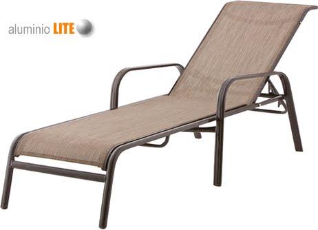 Camastro spazio sillas y mesas sillas elite for Camastros para jardin