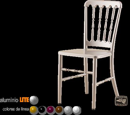 Silla versalles sillas y mesas sillas elite for Sillas para eventos